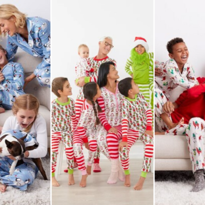 9 Best Selling Matching Family Holiday Pajamas