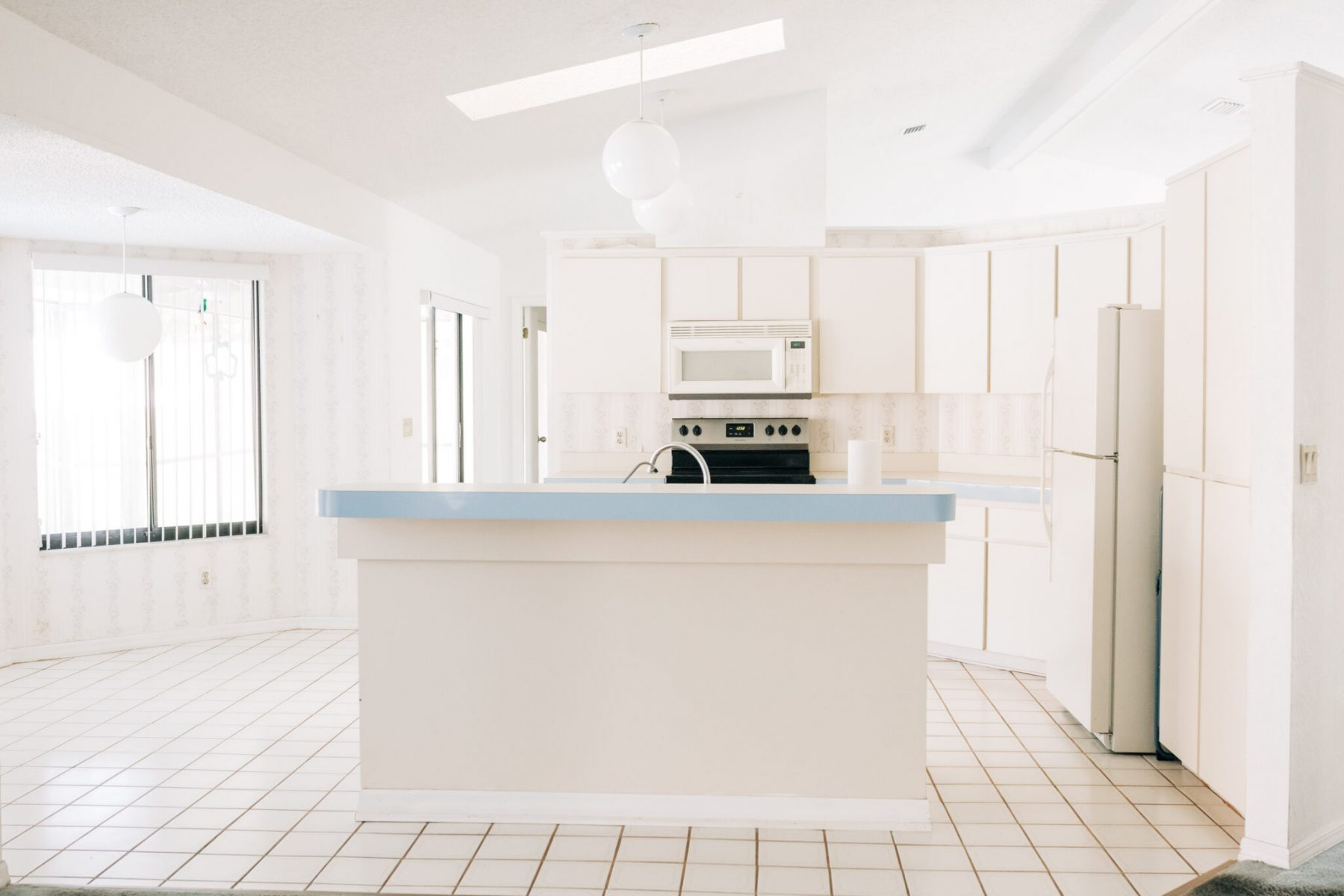 Before Photos of our Custom Family Friendly Kitchen with Modern Farmhouse Design Elements - Lifestyle and Mom Blogger, Crazy Life with Littles