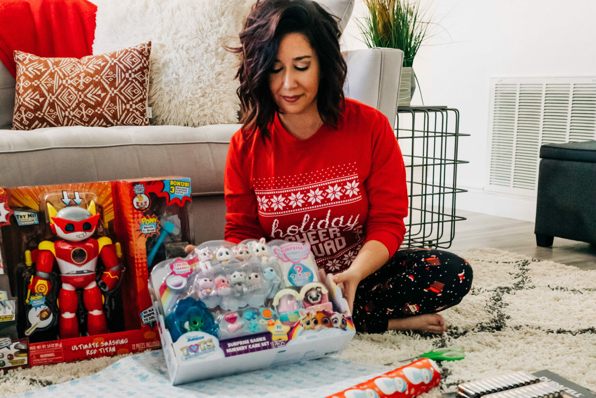 one-stop shopping for kids toys, family holiday pajamas and holiday apparel for everyone! AD Grinch Family Pajamas
