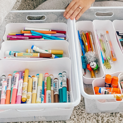 Why Every Kid Needs an Organized Craft Area