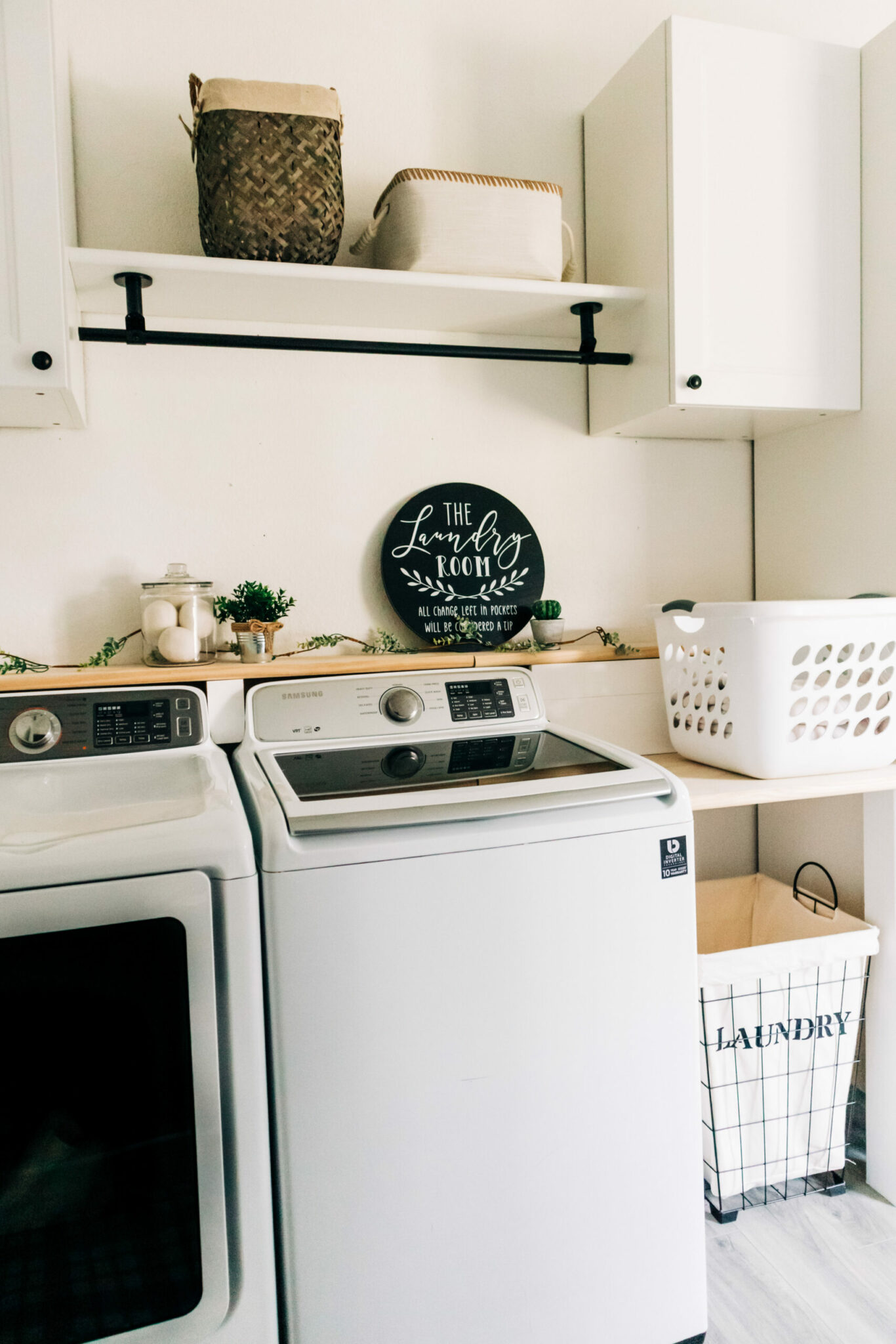 Before + After Laundry Room Makeover  CRAZY LIFE WITH LITTLES