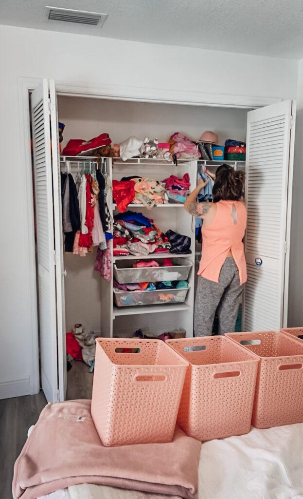#kidscloset #organization kids closet organization tips for keeping it clean and organized