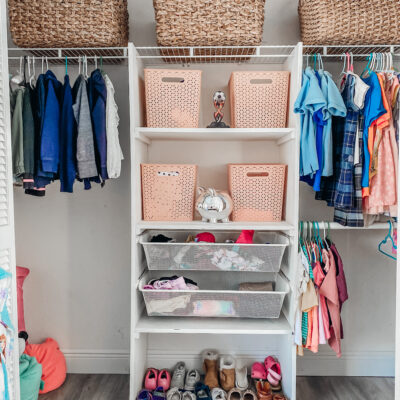 #kidscloset #organization kids closet organization tips for keeping it clean and organized