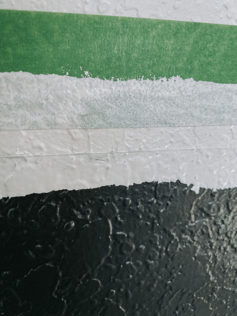 how to paint texture walls for clean lines