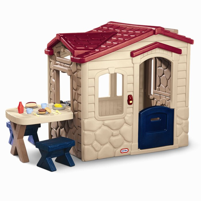 little tikes playhouse makeover, how to paint your plastic outdoor playhouse