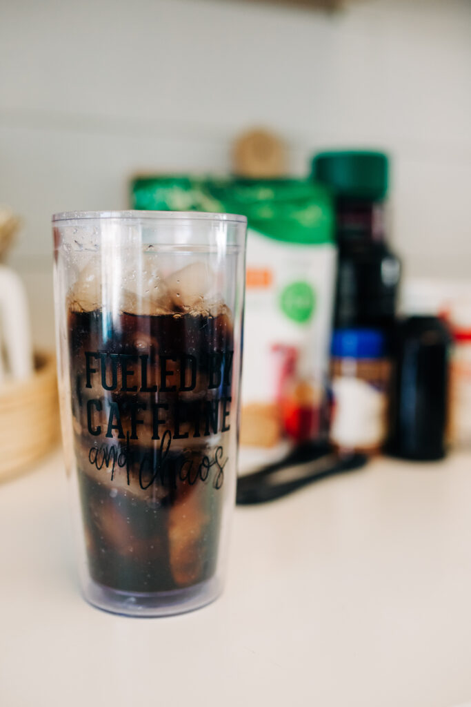 #keto #lowcarb #icedcoffee keto-friendly iced coffee recipe made with Truvia Sweet Complete – an all-purpose, calorie-free sweetener #TruviaPartner