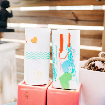 Up-cycled Juice Box Planter Craft