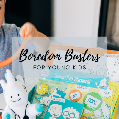 7 Ideas to End Your Kids' Boredom