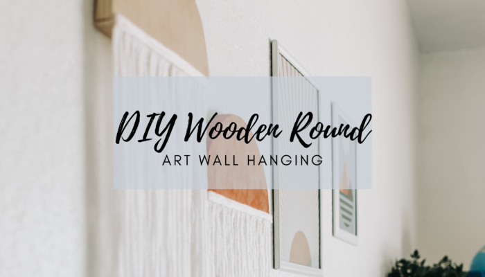 DIY Boho Wooden Round Wall Decor