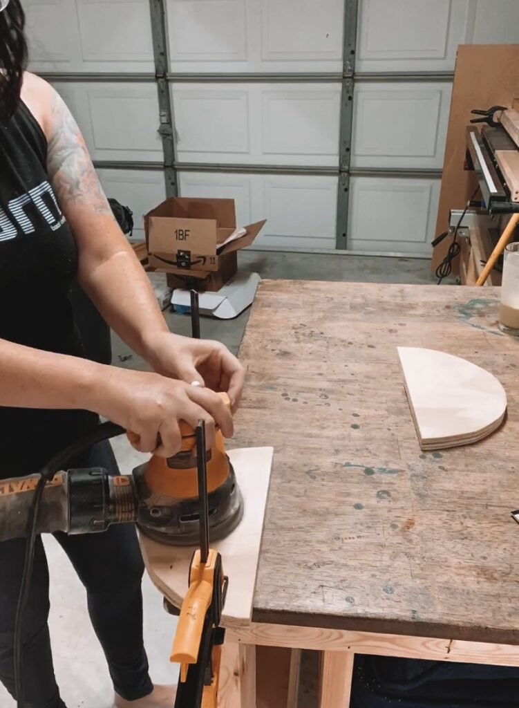 DIY Wooden Round Fiber Art Wall Hanging Tutorial