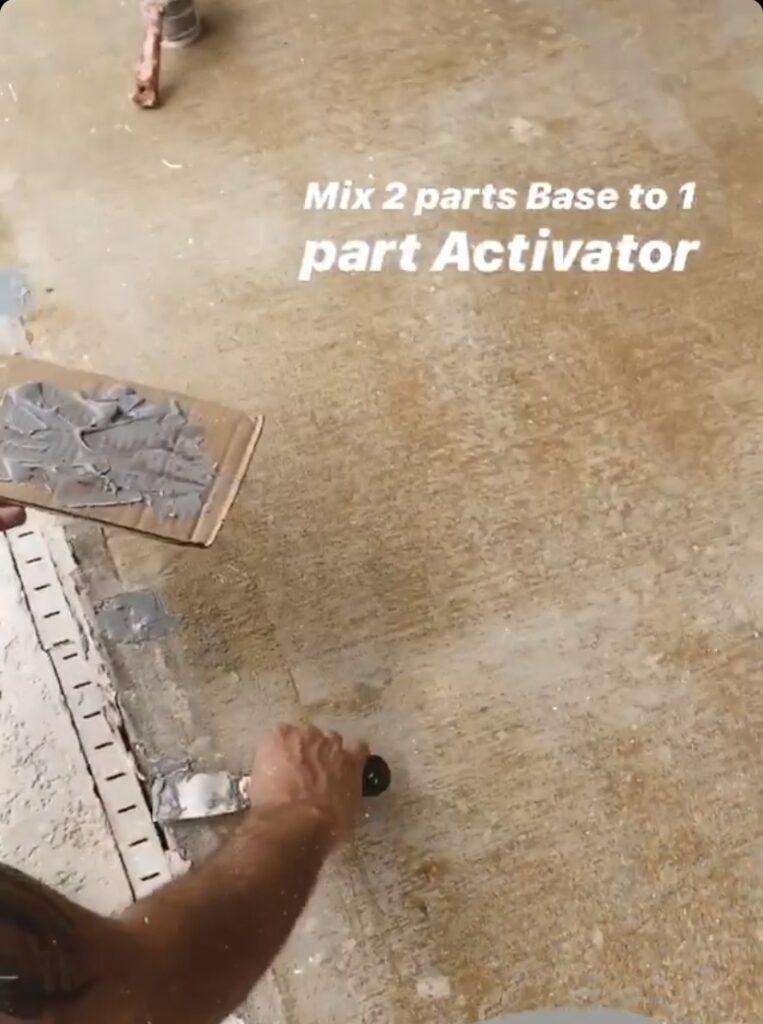 how to repair concrete cracks with the Rustoleum Concrete Repair Kit