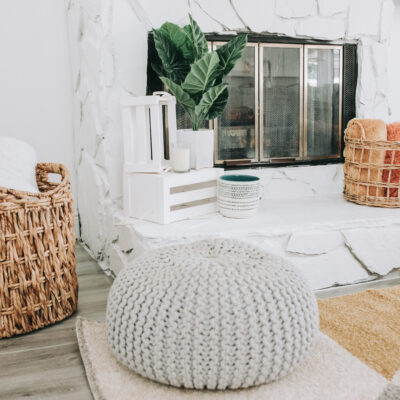 summer home decor finds at Bealls Outlet, decorate your fireplace for summer