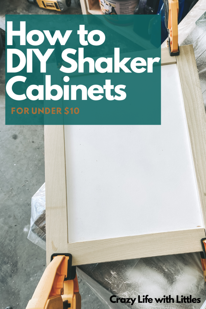 DIY budget master bath makeover, spray painting laminate cabinets with Rustoleum Universal, black bathroom cabinets and copper handles