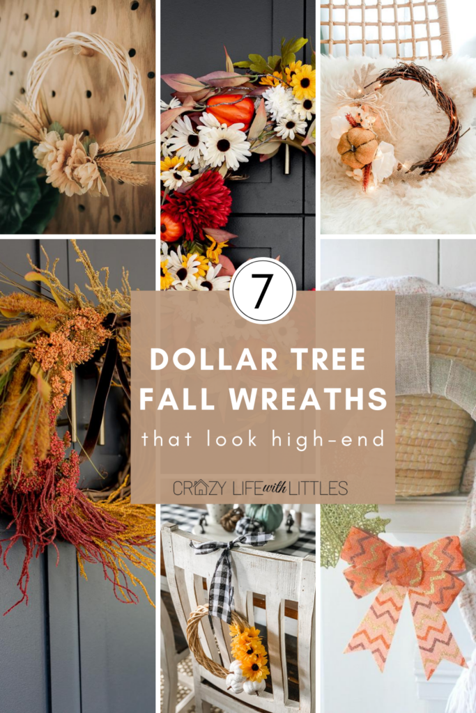 #dollartree Dollar Tree DIY Fall Wreaths, DIY Dollar Tree Crafts and Home Decor