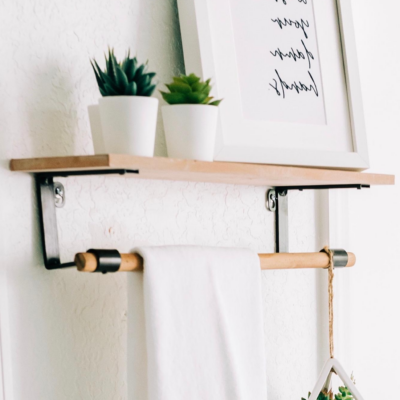 How to Hang a Shelf (for Dummies)