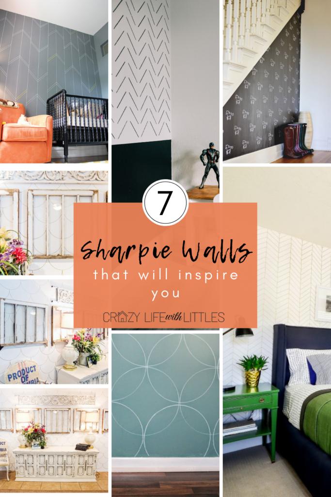 Sharpie Walls, Sharpie Wallpaper, DIY Wallpaper
