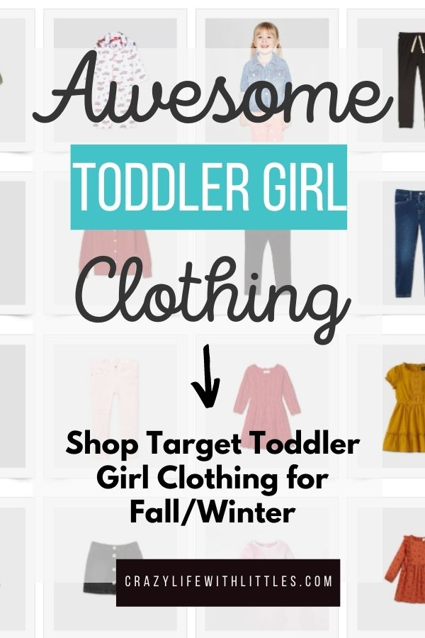 There's a current Target deal where you spend $40 on kid's clothing and receive $10 off. I'm rounding up my favorite toddler girl clothes for fall and winter.