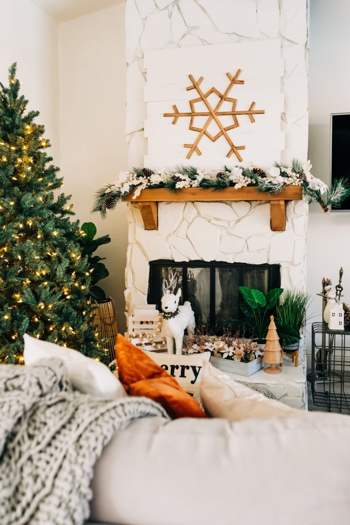 holiday home decor, affordable holiday decor, rustic holiday decor, holiday home decor from Bealls Outlet
