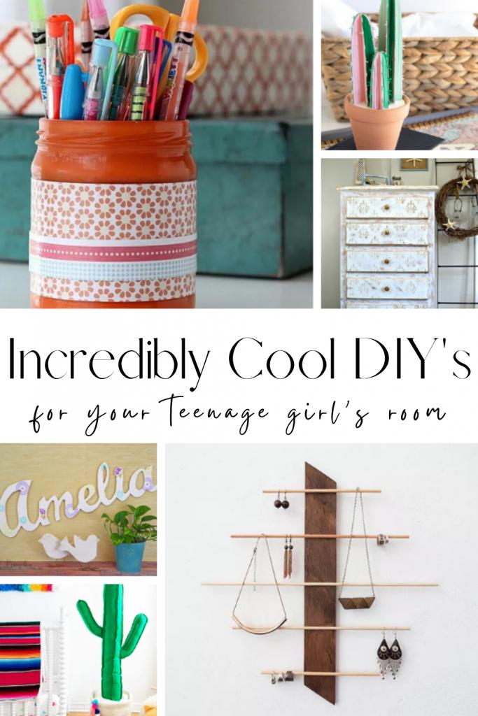cool DIY's for a teenage girl's bedroom, teenage girl's bedroom DIY, DIY teenage girl room