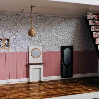 A Modern Dollhouse Makeover